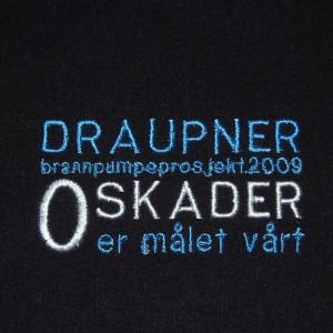 Trace Brodering - Draupner Kampanje