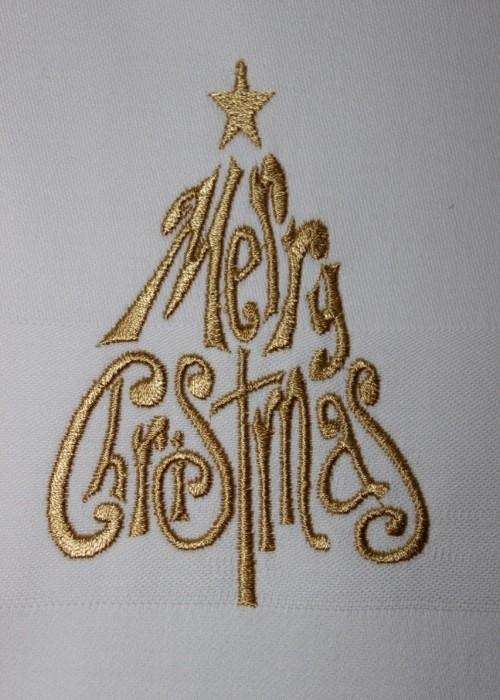Serviett - Jul - Merry christmas