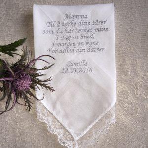 Lommetørkle Bryllup